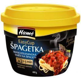 Hamé Špagetka směs na špagety hotové jídlo Easy cup