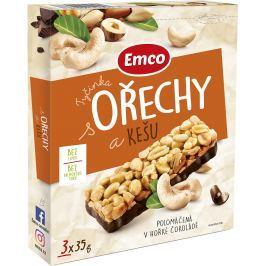 Emco Tyčinky s ořechy a kešu