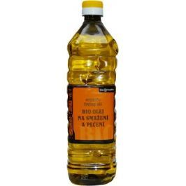 Bionebio Slunečnicový olej na smažení PLAST BIO