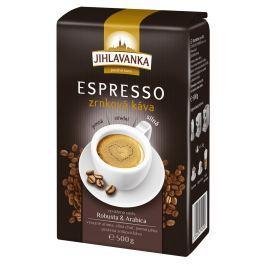 Jihlavanka espresso pražená zrnková káva