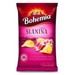 Bohemia Chips s příchutí Slanina