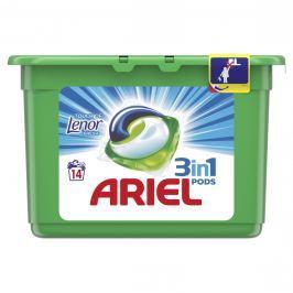 Ariel Touch of Lenor prací kapsle 14ks