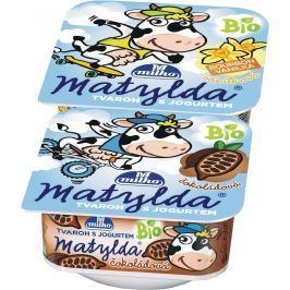 Matylda Bio tvaroh s jogurtem (čokoláda+vanilka) Pack