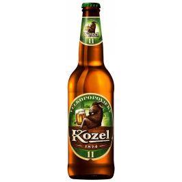 Velkopopovický Kozel 11 pivo světlý ležák