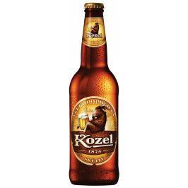 Velkopopovický Kozel pivo světlé sklo