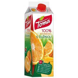 Toma džus pomerančový s dužinou 100%