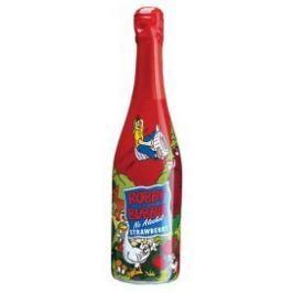 Robby Bubble dětský šumivý nápoj jahoda
