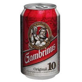 Gambrinus pivo světlé výčepní plech