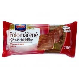 RACIO Chlebíčky rýžové mléčno-kakaové