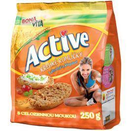 Bonavita Active Křehké rohlíčky celozrnné