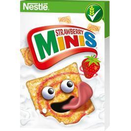 Nestlé Strawberry Minis cereálie