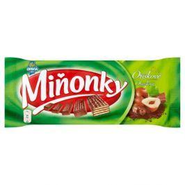Opavia Miňonky Oplatky s lískooříškovou náplní v mléčné čokoládě