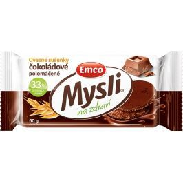 Emco Mysli Ovesné sušenky čokoládové - Polomáčené