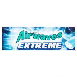 Wrigley's Airwaves Extreme žvýkačka bez cukru se silnou příchutí mentolu a eukalyptu