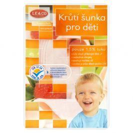 LE&CO Krůtí šunka pro děti výběrová plátky