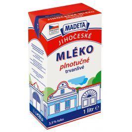 Madeta Jihočeské mléko trvanlivé plnotučné 3,5%