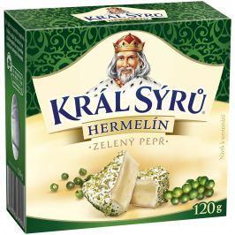 Král sýrů Hermelín Zelený pepř