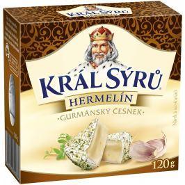 Král sýrů Hermelín Gurmánský česnek
