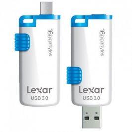 Lexar JumpDrive M20 16GB bílý-modrý