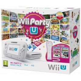 Nintendo Wii U White Basic Pack + Nintendoland & Wii Party U