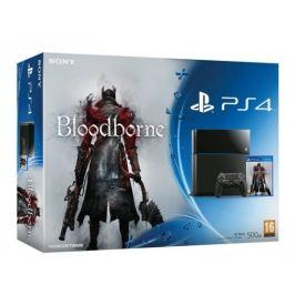 SONY PlayStation 4 - 500GB - černý + Bloodborne