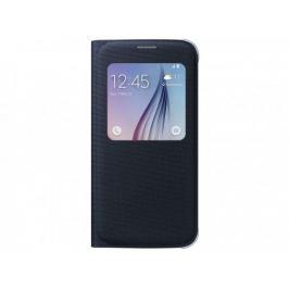 Samsung textilní pouzdro S-View pro Galaxy S6, černé