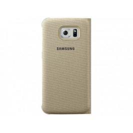 Samsung textilní pouzdro pro Galaxy S6, zlaté
