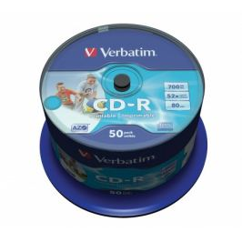 Verbatim CD-R DataLife Protection 52x, 50ks cakebox (43309)
