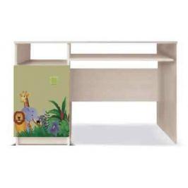 Junior - PC stůl, džungle 13 (zelená)