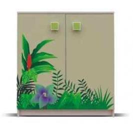 Junior - Komoda, džungle 8(zelená)
