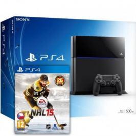 SONY PlayStation 4 - 500GB + NHL15
