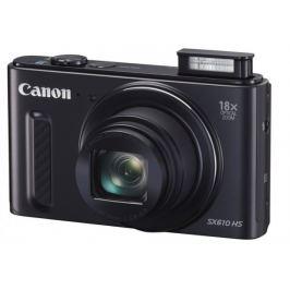 Canon PowerShot SX 610 HS, 20.2Mpix, 18x zoom, Wi-Fi - Černý