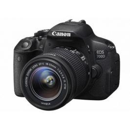 Canon EOS 700D Body zrcadlovka 18.0MPix + 18-55mm IS STM+ LP-E8+D
