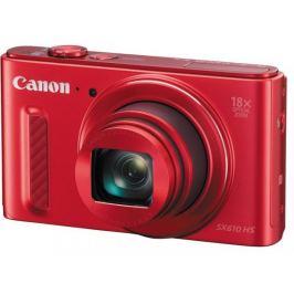 Canon PowerShot SX 610 HS, 20.2Mpix, 18x zoom, Wi-Fi - Červený