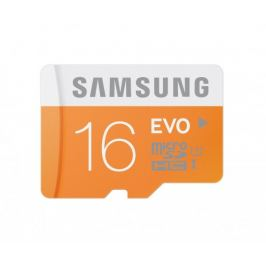 Samsung Micro SDHC EVO 16GB Class 10 + adaptér (MB-MP16DA/EU)