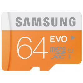 Samsung micro SDXC 64GB Class10(EVO)+čtečka USB2.0,MB-MP64DU2/EU
