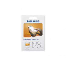 Samsung Micro SDXC EVO 128GB Class 10 + adaptér (MB-MP128DA/EU)