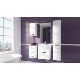 Siracusa - koupelnová sestava s umyvadlem (bílá)