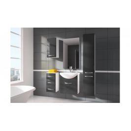Siracusa - koupelnová sestava s umyvadlem (šedá)