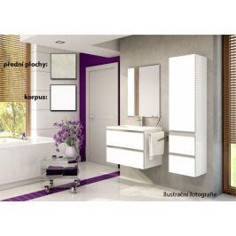 Firenze - Koupelnová sestava (melange světlá,boky bílé)