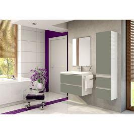 Firenze - Koupelnová sestava (basalto pearl,boky bílé)