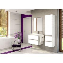 Firenze - Koupelnová sestava (bílá,boky bílé)
