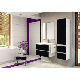 Firenze - Koupelnová sestava (negro pearl,boky bílé)