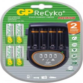 Nabíječka baterií GP PB50 + 4x AA ReCyko