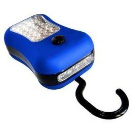 LED svítilna (S-3534) pogumovaná 24 + 4LED 3xR3 mix barev