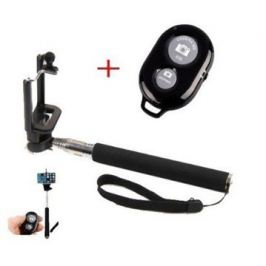 Teleskopická tyč pro selfie fotky s bluetooth ovladačem