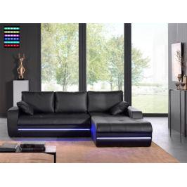 Flash-roh pravý, s LED osvětlením (pu black)