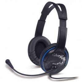 Sluchátka s mik GENIUS HS-M400A, single jack, modré