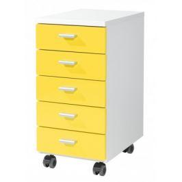 Office - kontejner (bílá / žlutá)