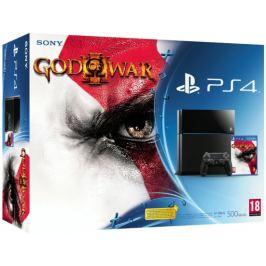 SONY PlayStation 4 - 500GB + God of War 3